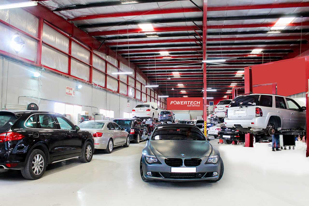 car repair center Dubai
