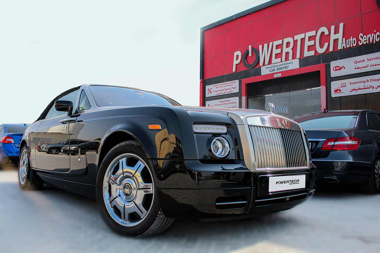 Powertech Rolls Royce Repair Dubai