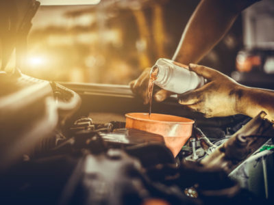 Car Engine oil service dubai