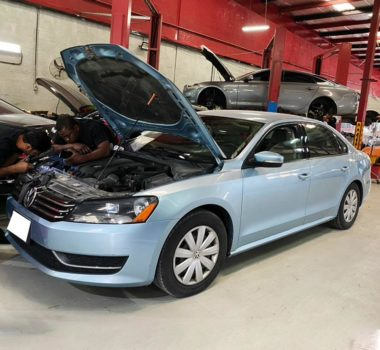 vw repair dubai