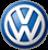 Volkswagen repair service logo